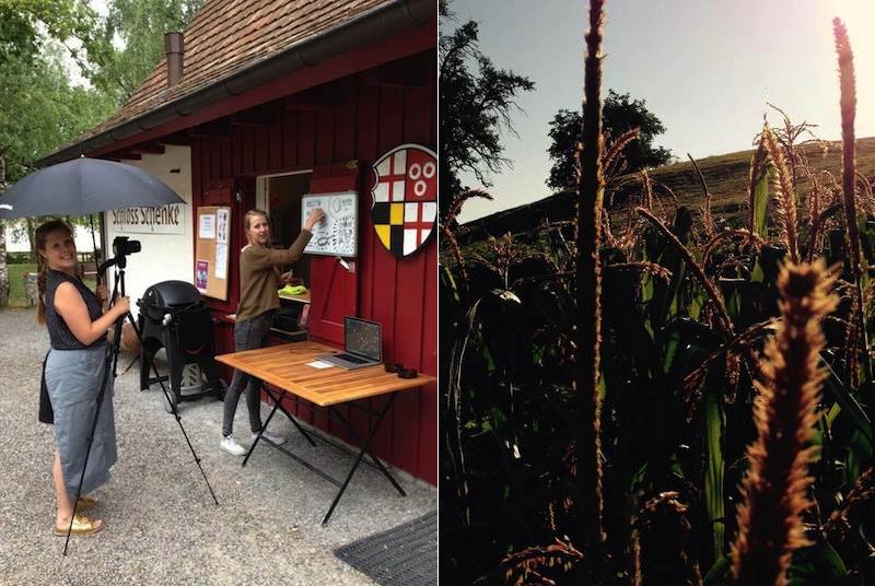 Making_of_Pflanzgarten_Film_Sophie_hinter_der_Kamera