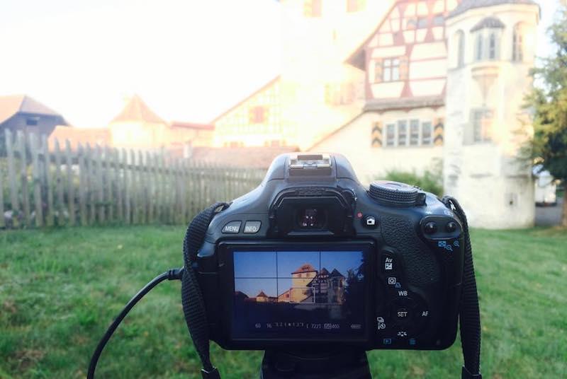 Making_of_Pflanzgarten_Film_ein_Blick_durch_die_Kamera